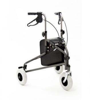 Coopers 3 wheel walker with bag