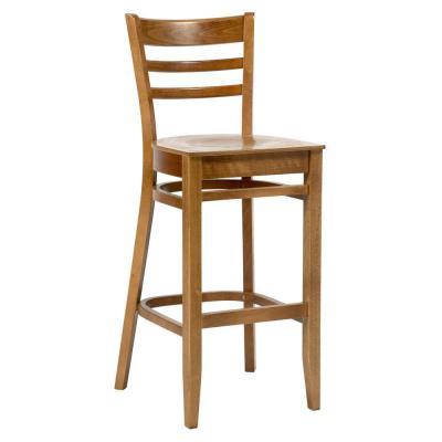 Dallas Veneer Seat Highstool Oak