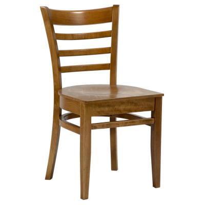 Dallas veneer seat Sidechair Oak