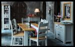 Danube French-Grey Table & 6 Chairs