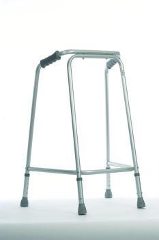 Hospital Walking Frame with wheels Medium