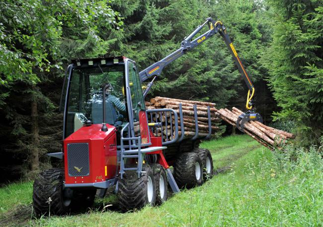 Falcon F40-8 mini forwarder.