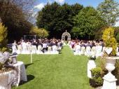 Garden Weddings at the Headfort Arms Hotel