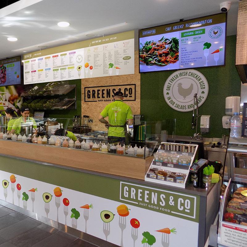 Greens and Co -IFSC  - Anglo Irish Refrigeration
