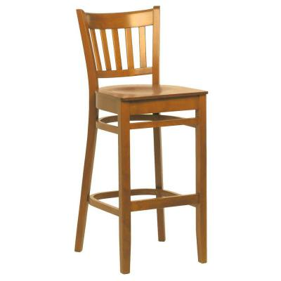 houston veneer seat highstool Natural