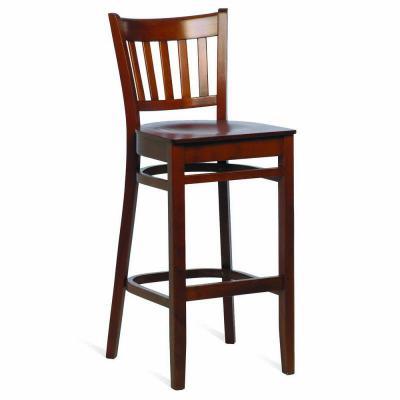 Houston veneer seat highstool Walnut