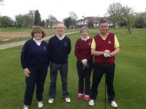 Irish Mixed Foursomes
