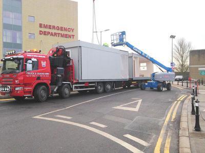 Install at Drogheda Hospital