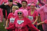 More pink accessoroies - and a smile!