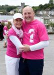Walk Patron Barbara McMahon with Keith Wood