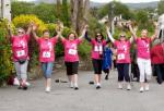 A family that took part in the Walk