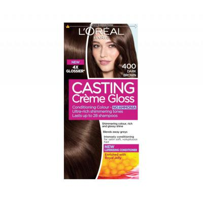 L'Oreal Paris Casting Creme Gloss Dark Brown - 400