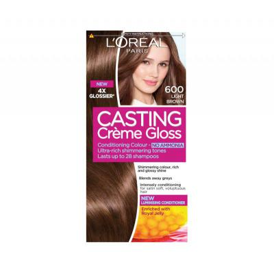 L'Oreal Paris Casting Creme Gloss Light Brown ...