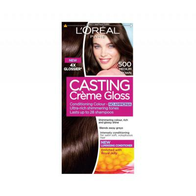 L'Oreal Paris Casting Creme Gloss Medium Brown ...