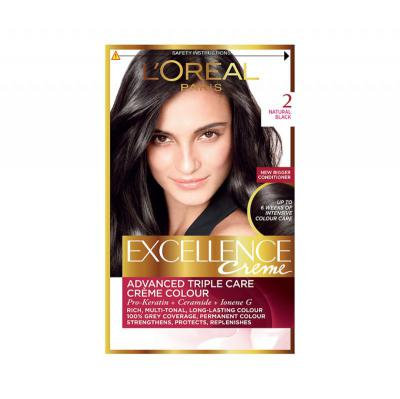 L'Oreal Paris Excellence Creme Natural Black - 2