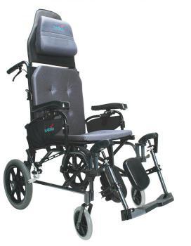 MVP-502 Transit Reclining Wheelchair