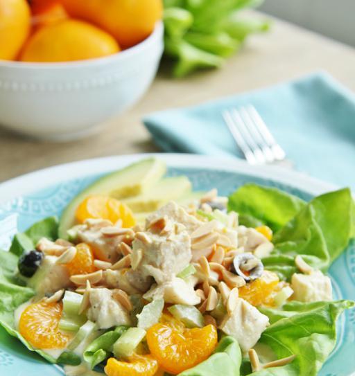 Asian Chicken Citrus Salad