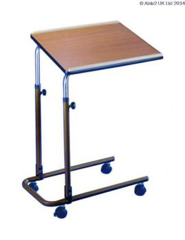 Over-Bed/Chair Table With Castors