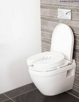 Padded Toilet Seat with Straps