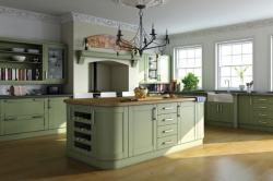 Paintable-Garden-Green-Shaker-Kitchen