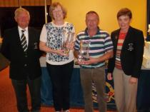 Mixed Foursomes Winners