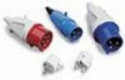 Set of male plugs