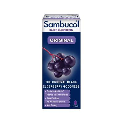 Sambucol Original Black Elderberry Liquid - 120ml