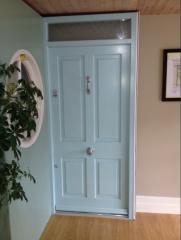4 Panel Door With Fanlight