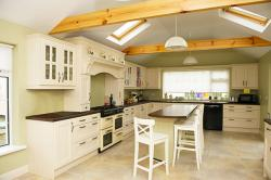 Solid Oak Kitchen Painted Ivory