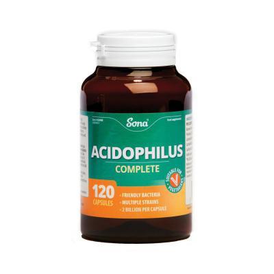 Sona Acidophilus Complete Capsules - 120's