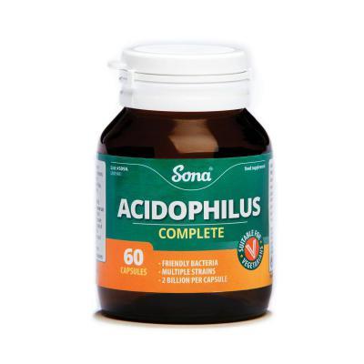 Sona Acidophilus Complete Capsules - 60's
