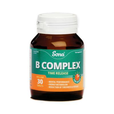 Sona B-Complex Tablets - 30's