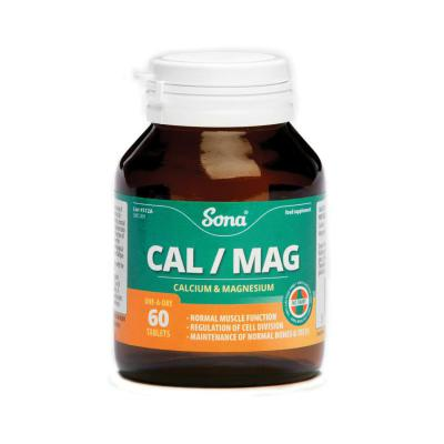 Sona Cal/Mag Tablets - 60's