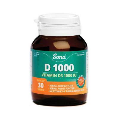 Sona D1000 Tablets - 30's