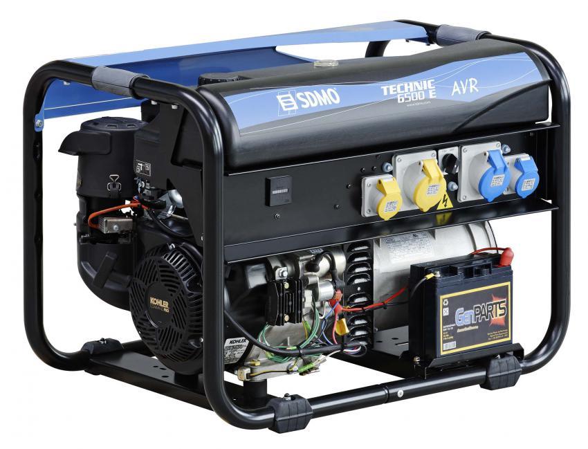 SDMO TECHNIC 6500E AVR UK