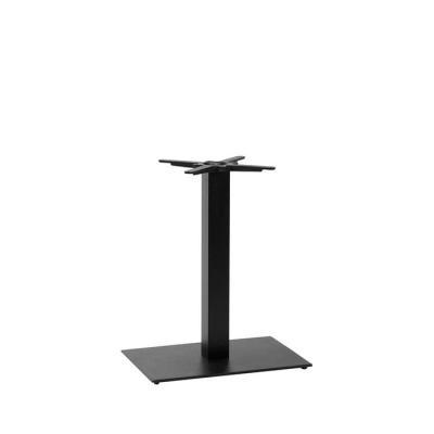Titan rect table base DH Black