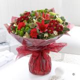 Christmas Cracker Hand-Tied Bouquet